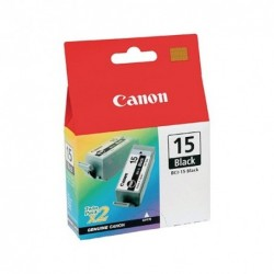 CANON BCI-15BK NEGRO PACK 2